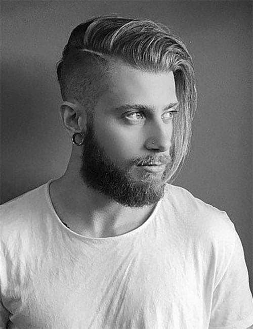 Long Comb Over - Long Haircuts For Men