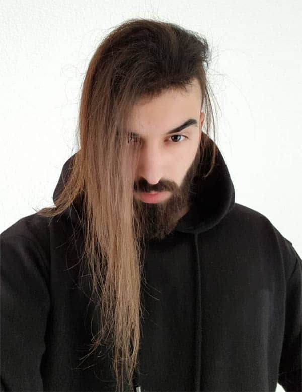 Long Hair + Undercut - Punk Hairstyles For Men