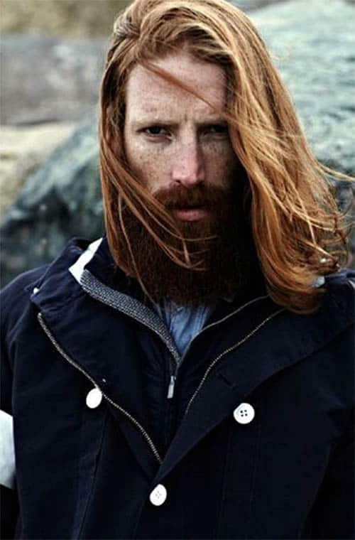 Long Hair and Beard - best Viking Hairstyles