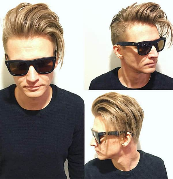 Long Messy Top - Undercut Hairstyles For Classy Men
