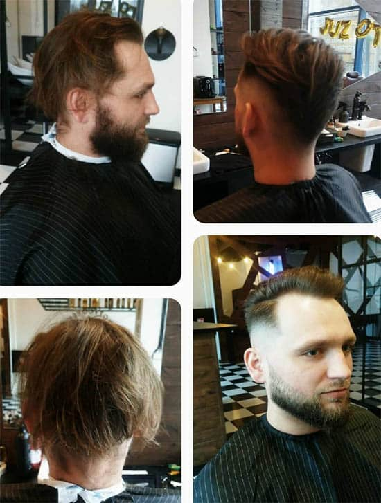 Long Pomp + Low Fade - Long Haircuts For Men