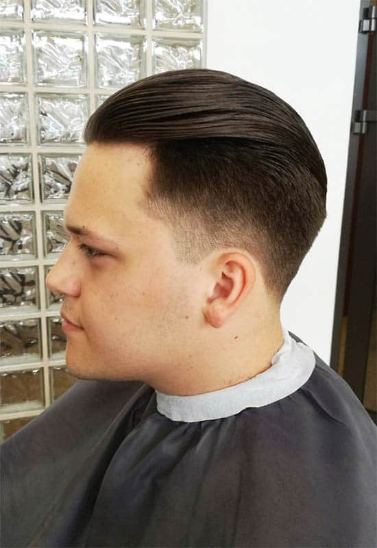 Long Slick Back + Matte Finish - Long Haircuts For Men