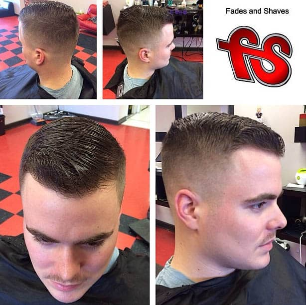 Low Fade Blended - Business Haircuts For Men