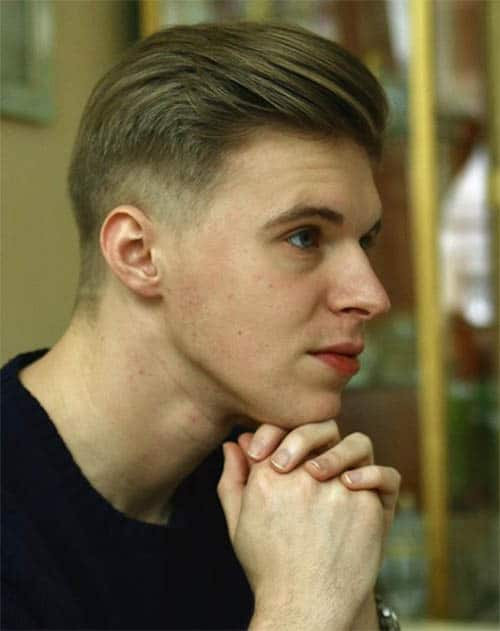 Low Fade - Men's Long Hair With Undercut Hairstyles