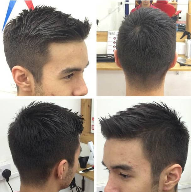 Low Fade and Tapered Cut - Medium Length Hairstyles For Men