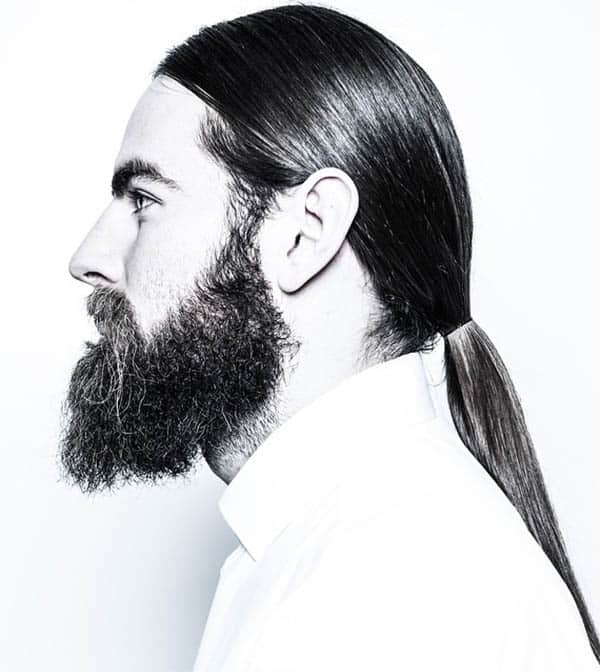 Low Men's Ponytail - Best Men's Ponytail Hairstyles