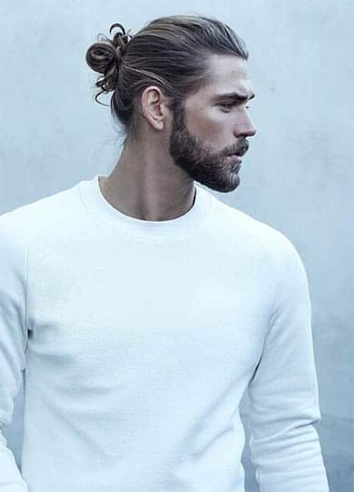 Man Bun - Men's Long Hair With Undercut Hairstyles