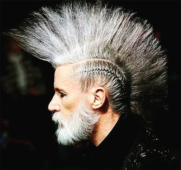 Mature Mohawk - Punk Hairstyles For Men
