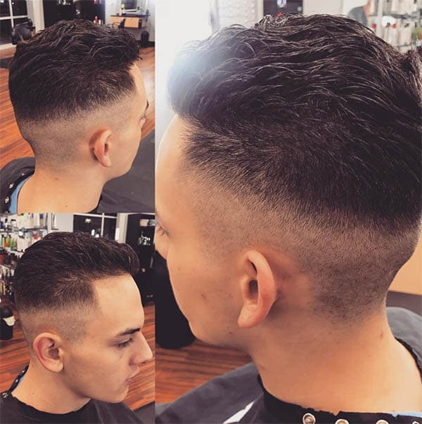 Medium Fade - Medium Length Hairstyles For Men