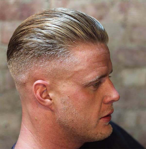 Medium Length Undercut - Best Military Haircuts