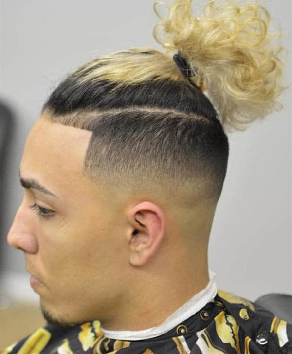 Men's Undercut Ponytail - Best Men's Ponytail Hairstyles