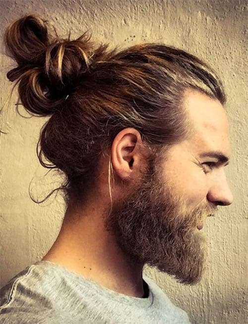 Messy Bun - Long Haircuts For Men