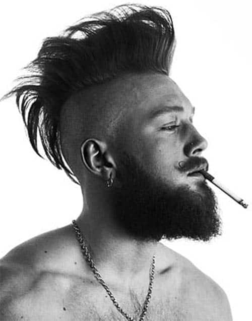Mohawk - best Viking Hairstyles