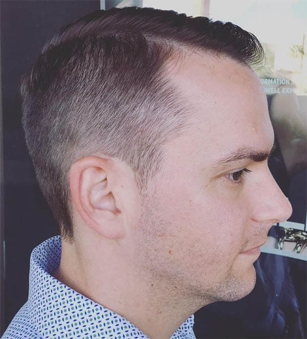 No Product Fade - Business Haircuts For Men