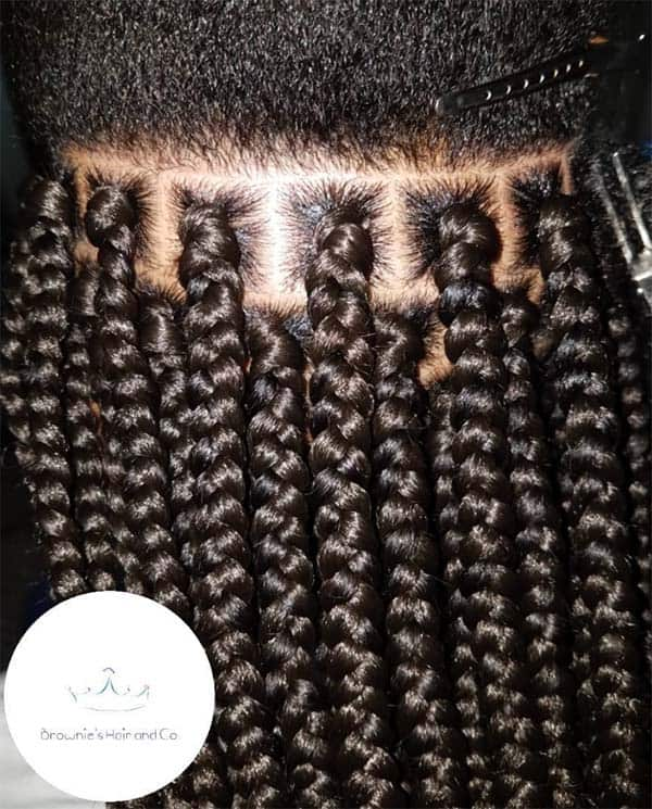 Novel Box Braids For Black Women