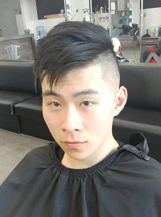 Piecey Flat Haircut - Short Sides Long Top Hairstyles For Men