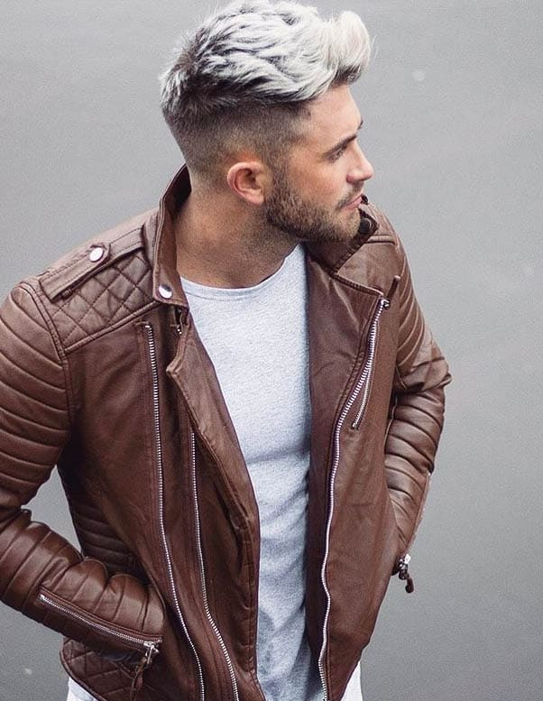 Platinum Bond Cut - Short Sides Long Top Hairstyles For Men