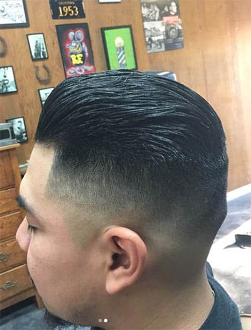 Pomp + Slick Back - Undercut Hairstyles For Classy Men