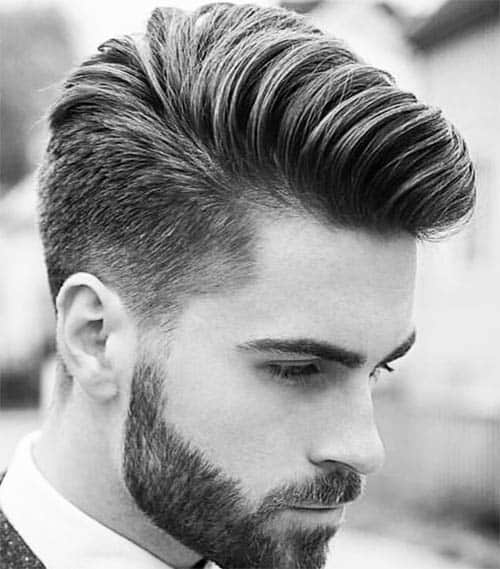 Quif With Taper - Best Quiff Haircuts For Men