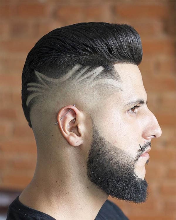 Quiff With Free Lock - Best Quiff Haircuts For Men