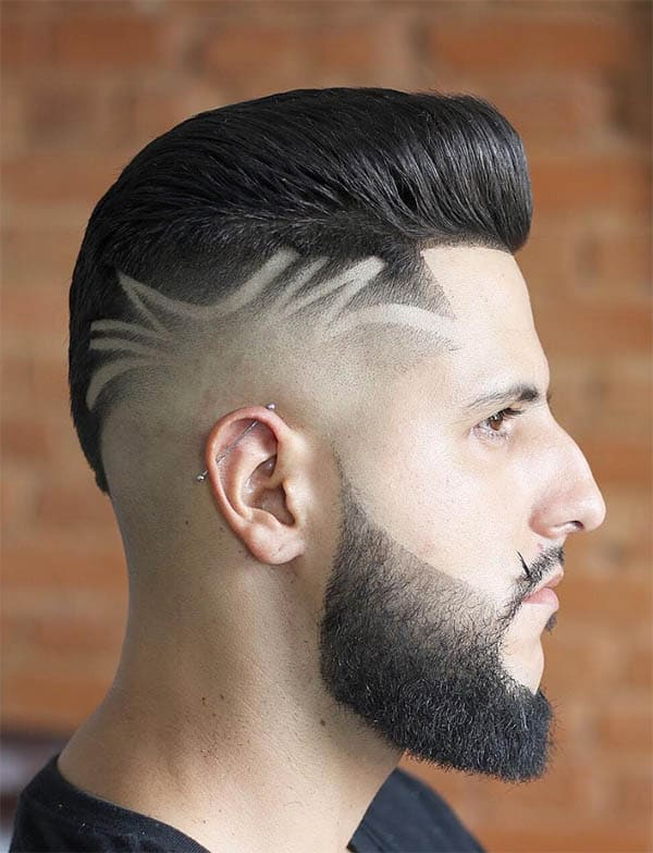 Quiff With Hair Design - Best Quiff Haircuts For Men