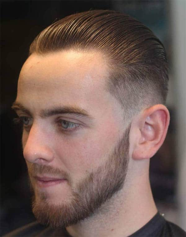 Retro Sweep Back - Haircuts For Balding Men