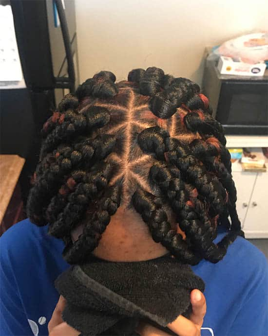 Rocking The Rhombus Box Braids For Black Women