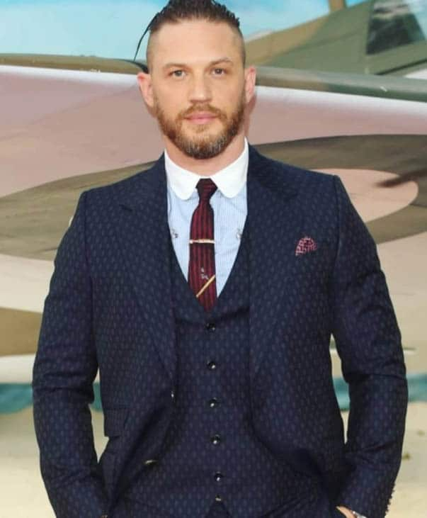 Shaved Sides with Slicked Back - Best Tom Hardy Haircut