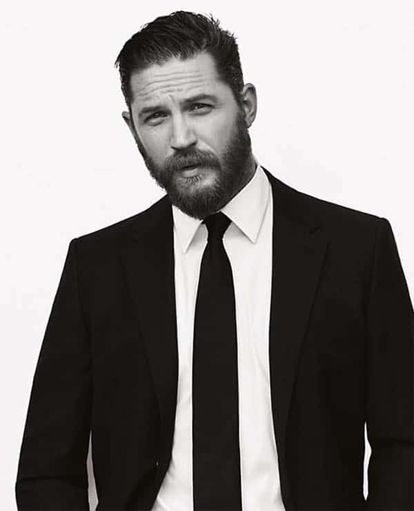 Short Cut with Beard - Best Tom Hardy Haircut