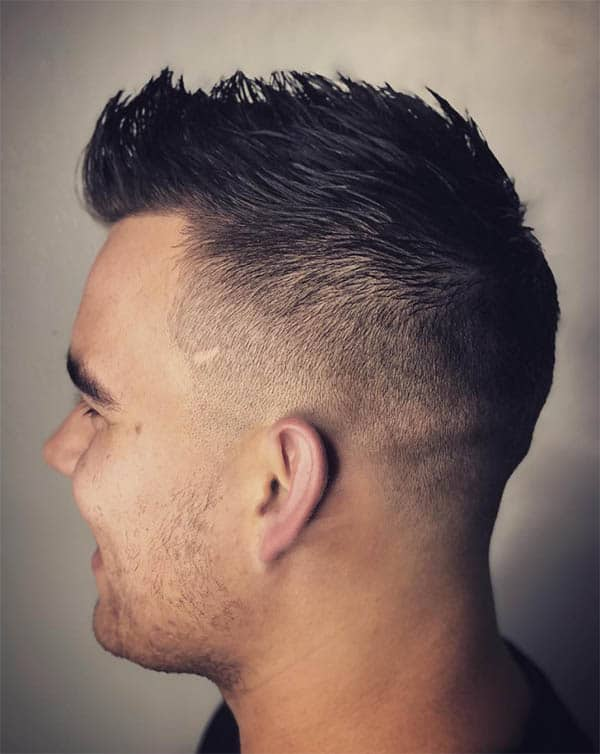 Short Faux Hawk - Mid Fade Haircuts For The Stylish Man
