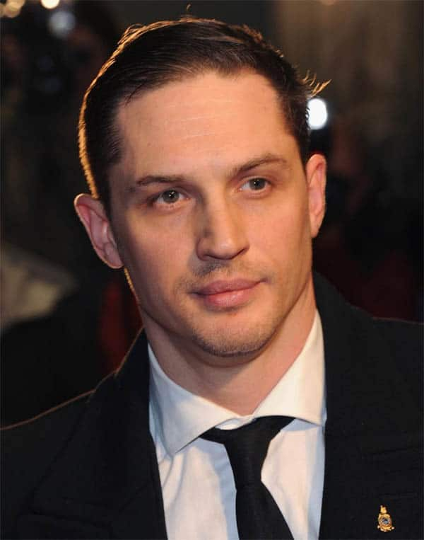 Short Gel to the Side - Best Tom Hardy Haircut