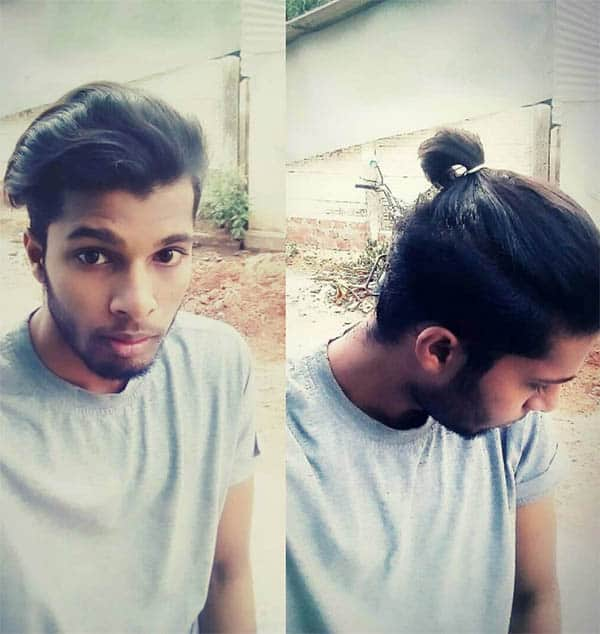 Short Hair Men's Ponytail - Best Men's Ponytail Hairstyles