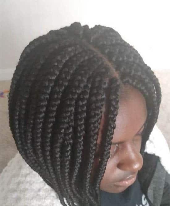 Short Magic Box Braids For Black Women