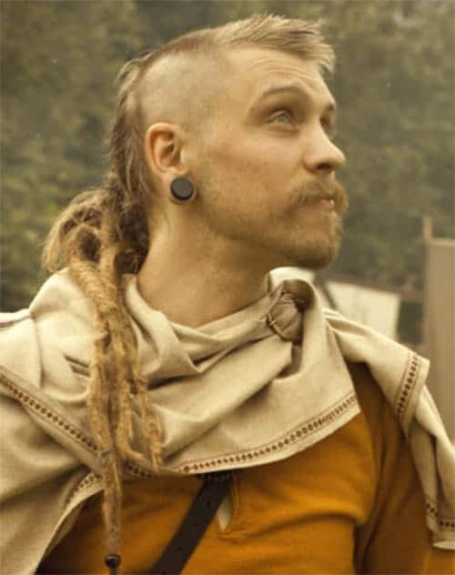 Short and Long Hair Combos - best Viking Hairstyles
