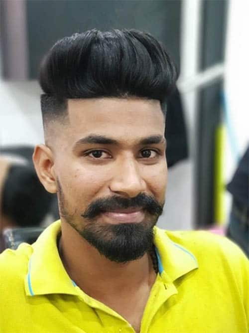 Skin Fade - Men's Long Hair With Undercut Hairstyles