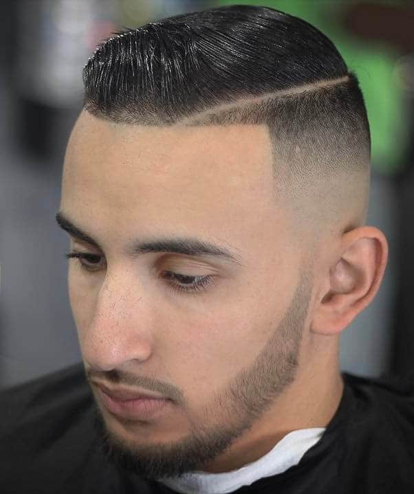 Skin Fade and Comb Over - Best Military Haircuts