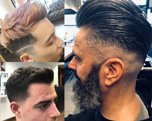 Slick Back Haircuts For Men