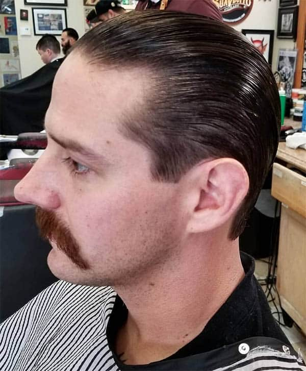 Slick Back - Long Haircuts For Men