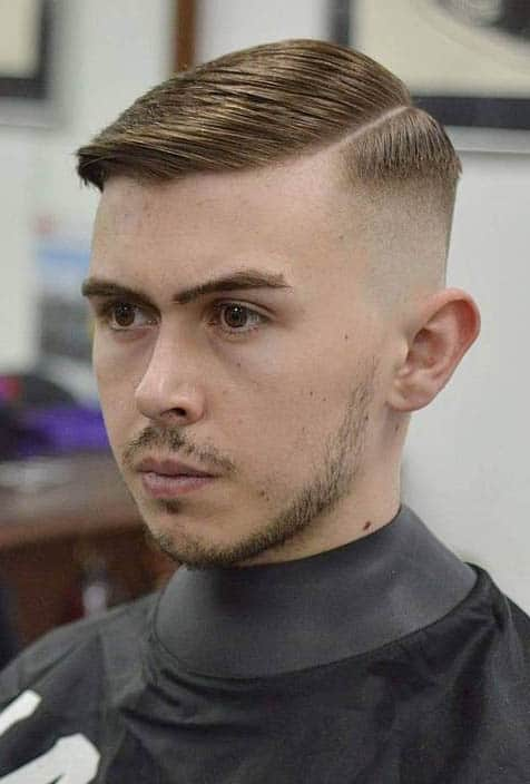 Slick with Side Parting - Best Ivy League Haircuts