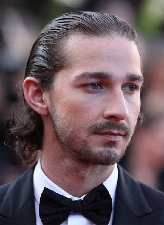 Slicked Back Long Hair For Men