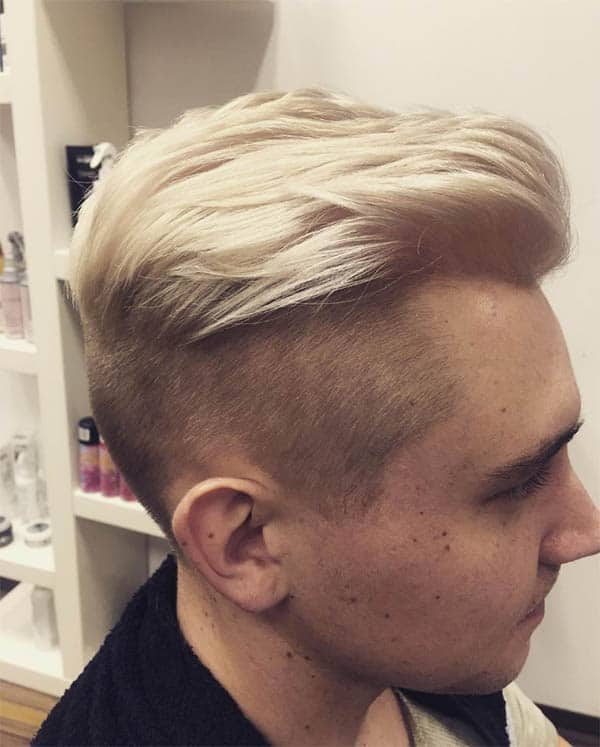 Slicked Back - Men's Long Hair With Undercut Hairstyles