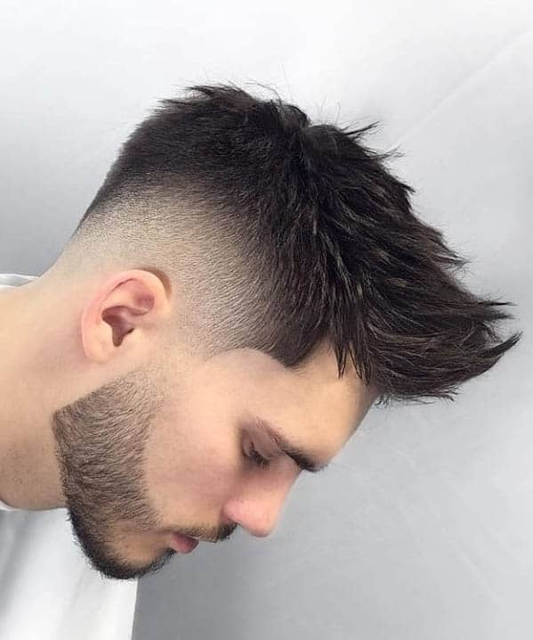 Spiky Quiff With Beard - Best Quiff Haircuts For Men