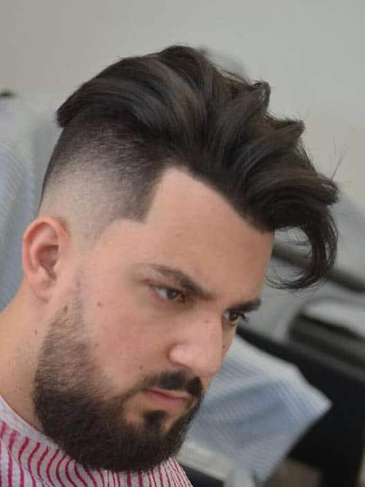 Stylish Side Sweep - Undercut Hairstyles For Classy Men
