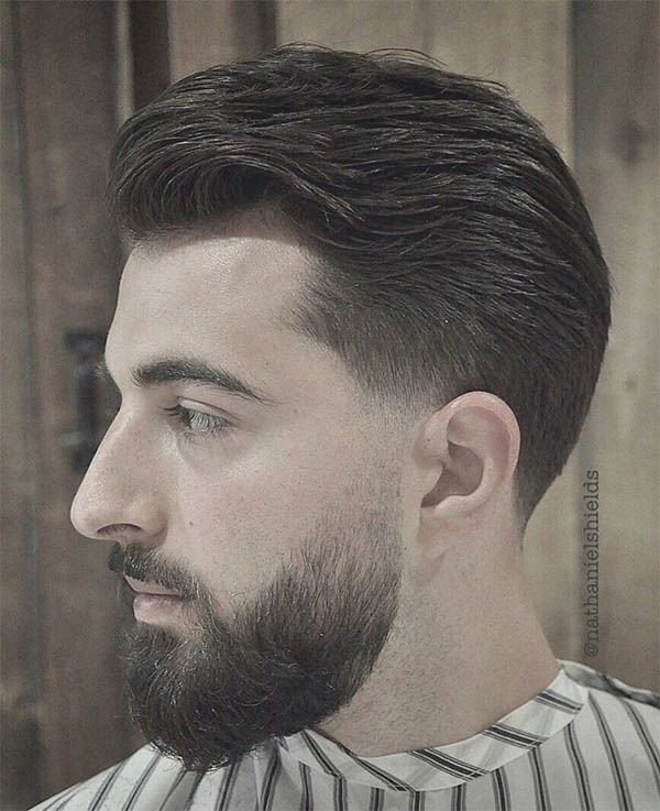 Sweep Back Quiff - Best Quiff Haircuts For Men
