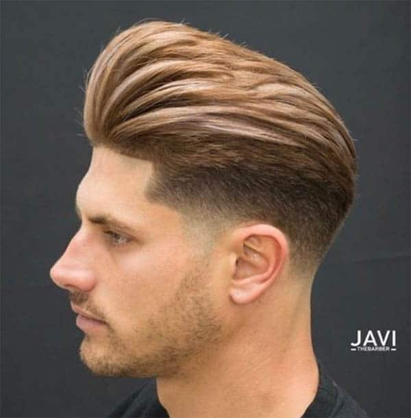 Tall Quiff With Undercut - Disconnected Undercut Hairstyles