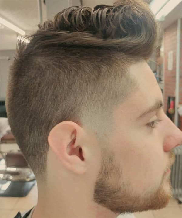 Tapered Fade Haircut - Short Sides Long Top Hairstyles For Men