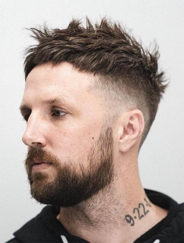 Tapered Haircut - Medium Length Hairstyles For Men