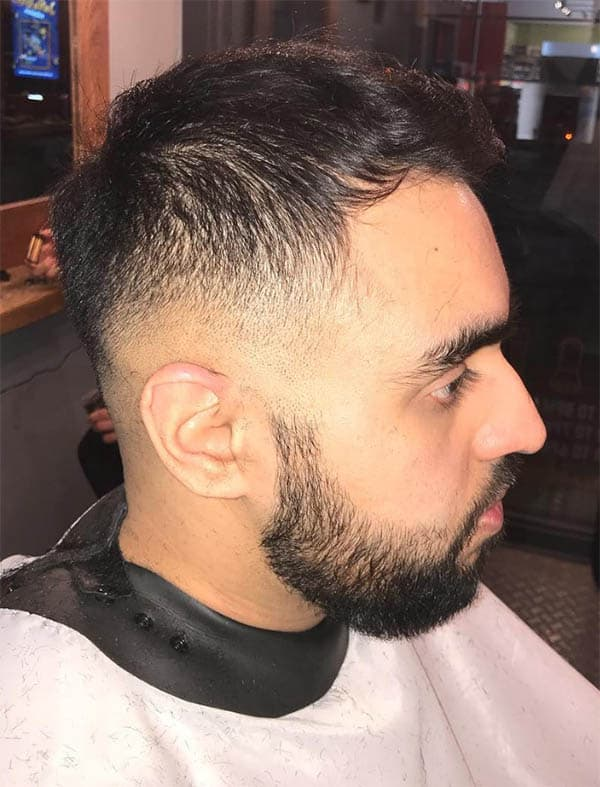 Tapered Pompadours - Short Sides Long Top Hairstyles For Men
