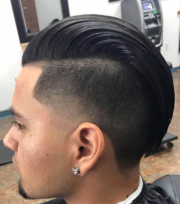 Tapered Sides - Undercut Hairstyles For Classy Men