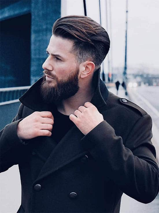 Textured And Side Swept Top Hair - Men's Wavy Hairstyles